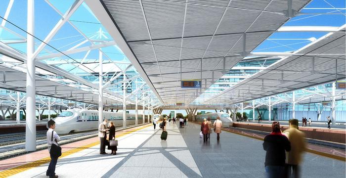 青島北客站鋼結構